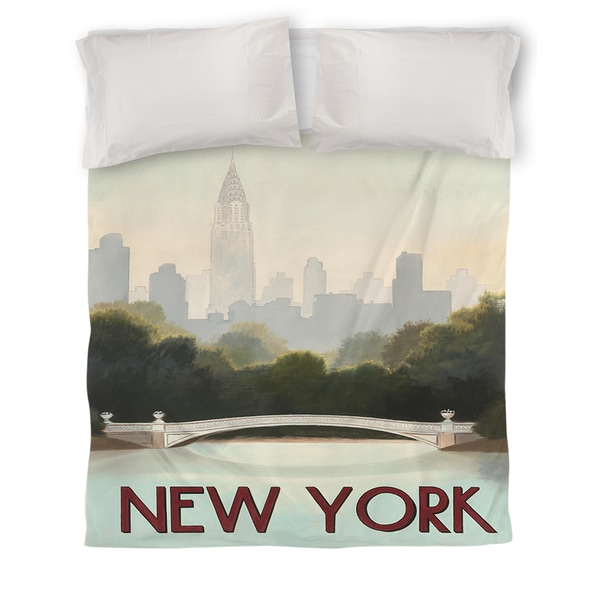 Thumbprintz City Skyline New York Duvet Cover