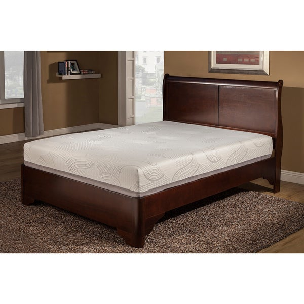 Supreme Slumber Temperature Balance 10-inch Queen-size Gel Memory Foam Mattress