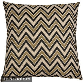 Lizzy Chenille Jacquard 18-inch Throw Pillows (Set of 2)