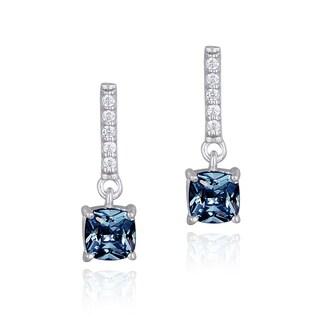 Glitzy Rocks Sterling Silver Gemstone Earrings