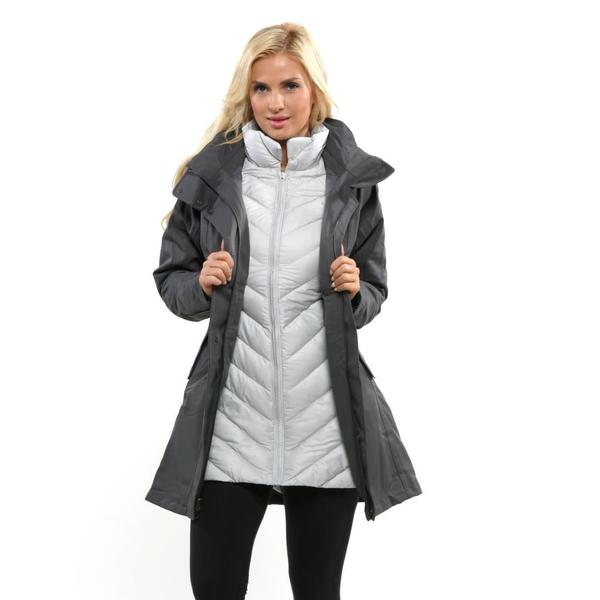 Patagonia Women's 'Tres' Forge Grey Parka