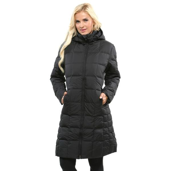 Patagonia Women's 'Down With It' Black Down-filled Parka