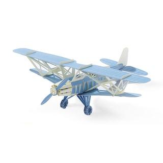 Papero Blue Bi-plane Assemblage Model Kit