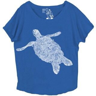 Women's Elegant Turtle Dolman Top