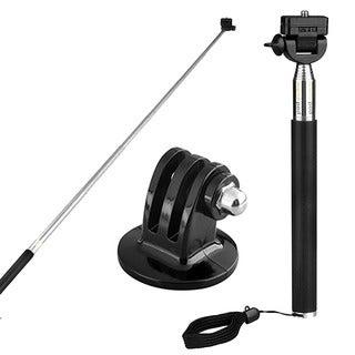 INSTEN Telescoping Extendable Handheld Pole Stick For GoPro Hero 2 Hero 3/3+
