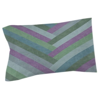 Thumbprintz Chevron Rainbow Pastels Sham