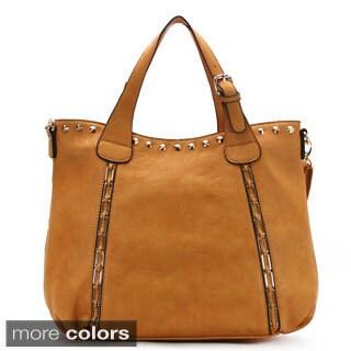 Mark Ciel Chemin Chance Faux Leather Tote Handbag