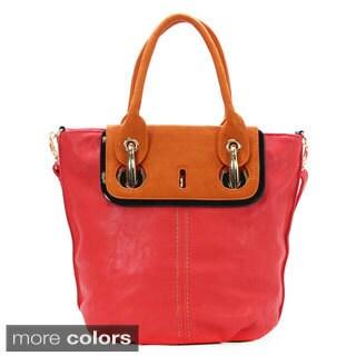 Royal Lizzy Couture Charme De La Plage Faux Leather Tote Handbag