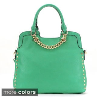Royal Lizzy Couture Beau Cou Faux Leather Tote Handbag