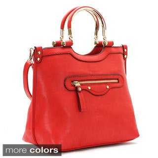 Chasse Wells Vous Belle Faux Leather Tote Handbag