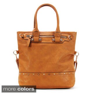 Chasse Wells Le Double Espoir Leatherette Tote