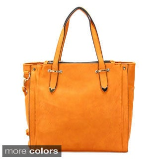 Chasse Wells Montage Faux Leather Tote Handbag