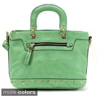 Chacal Taylor Mignon Faux Leather Tote Handbag