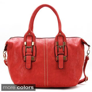 Mark Ciel Nouveau Depart Satchel Faux Leather Tote Handbag