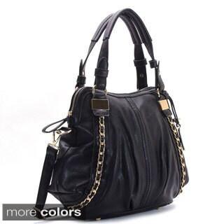 Chacal Taylor Espoir Sans Fin Shoulder Faux Leather Tote Handbag