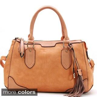 Chacal Taylor Grand Partie Faux Leather Satchel Handbag