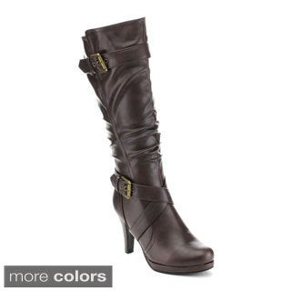 Forever Women's 'Juli-24' Slouchy Shaft Boots