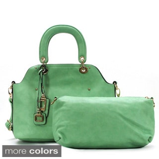 Chacal Taylor Souhait S'est Realise Faux Leather 2-in-1 Tote Handbag