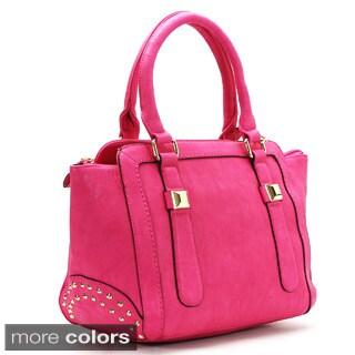Chasse Wells Vouloir Faux Leather Satchel Handbag