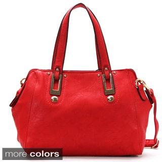 Mark Ciel Prochaine Tendance Faux Leather Satchel Handbag