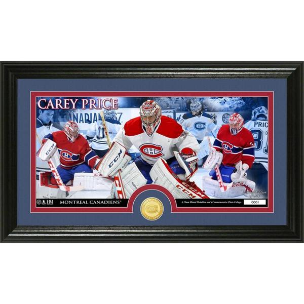 NHL Montreal Canadiens Carey Price Bronze Coin Panoramic Photo Mint
