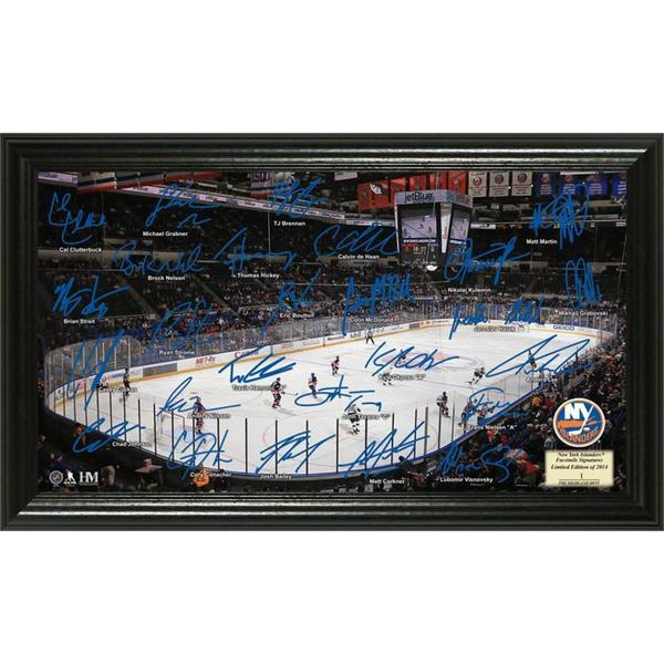 NHL New York Islanders New York Islanders Signature Rink