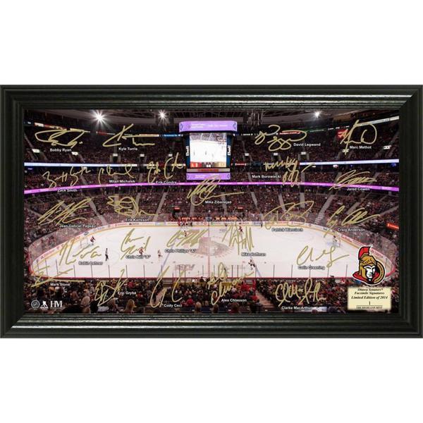 NHL Ottawa Senators Ottawa Senators Signature Rink