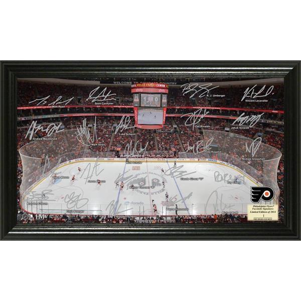 NHL Philadelphia Flyers Philadelphia Flyers Signature Rink