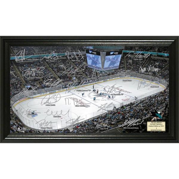 NHL San Jose Sharks San Jose Sharks Signature Rink