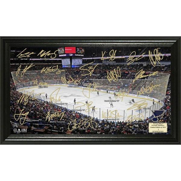 NHL St. Louis Blues St. Louis Blues Signature Rink