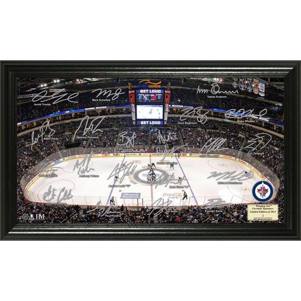 NHL Winnipeg Jets Winnipeg Jets Signature Rink