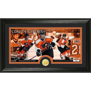 NHL Philadelphia Flyers Claude Giroux Bronze Coin Panoramic Photo Mint