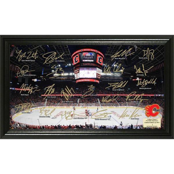 NHL Calgary Flames Calgary Flames Signature Rink