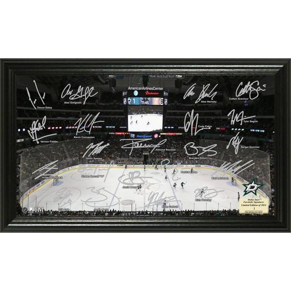 NHL Dallas Stars Dallas Stars Signature Rink