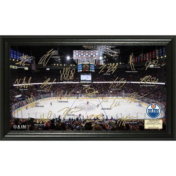 NHL Edmonton Oilers Edmonton Oilers Signature Rink
