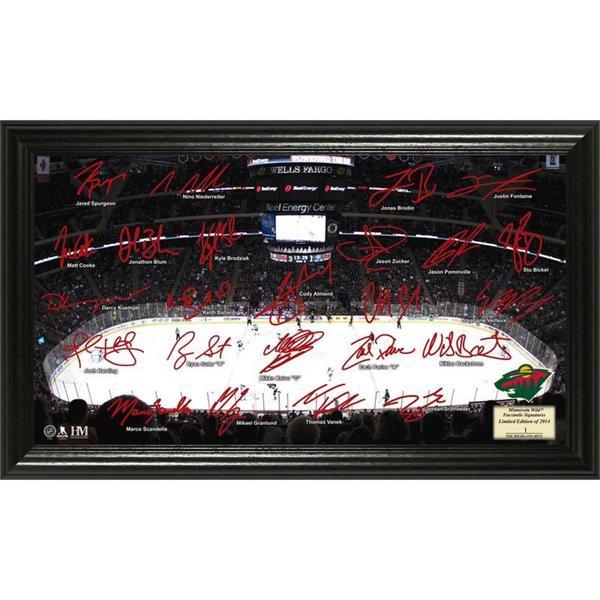 NHL Minnesota Wild Minnesota Wild Signature Rink