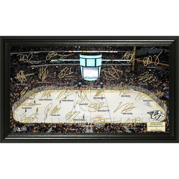 NHL Nashville Predators Nashville Predators Signature Rink