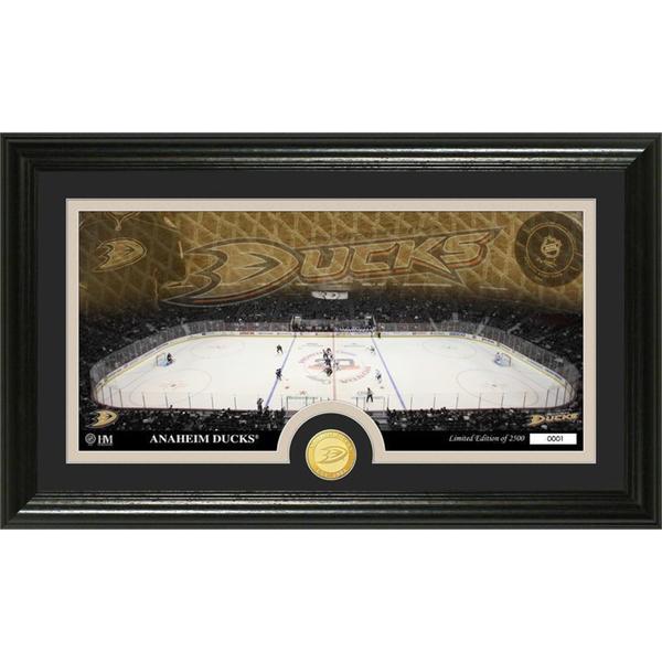 NHL Anaheim Ducks Anaheim Ducks Bronze Coin Panoramic Photo Mint