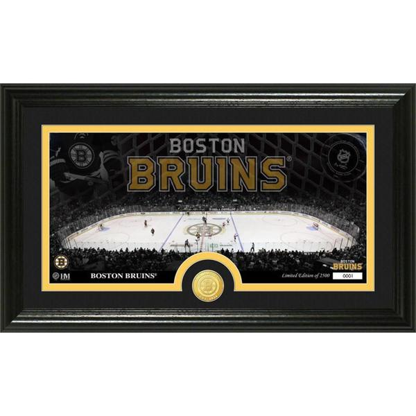 NHL Boston Bruins Boston Bruins Bronze Coin Panoramic Photo Mint