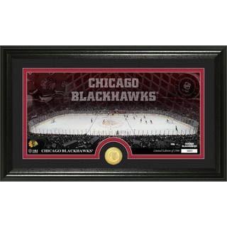 NHL Chicago Blackhawks Chicago Blackhawks Bronze Coin Panoramic Photo Mint