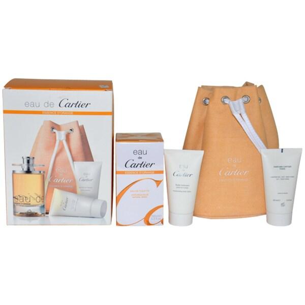 Cartier Eau de Cartier Essence d'Orange Men 4-piece Fragrance Set 14236446