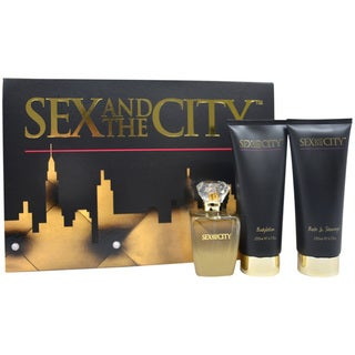 Sex and the City by Night Women's 3-piece Fragrance Set