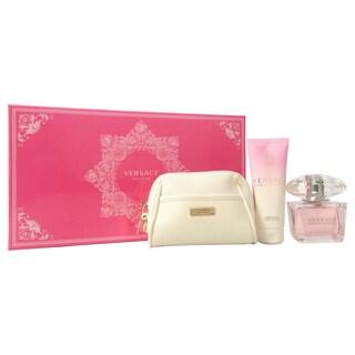 Versace Bright Crystal Women's 3-piece Fragrance Set