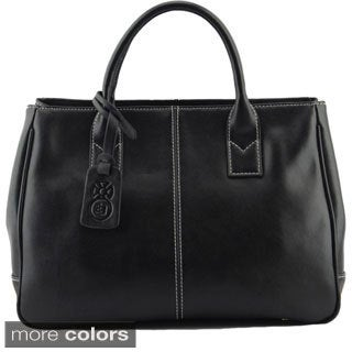 Eastide 'Office Lady' Leather Tote Bag