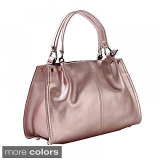 Eastide 'Bling' Metallic Leather Tote Bag