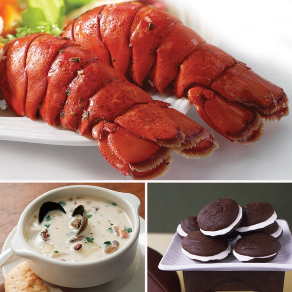 Hancock Gourmet Lobster Tail Dinner Bundle (Serves 2)