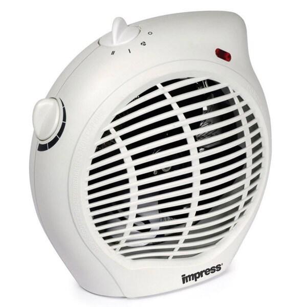 Impress IM-701 1500 watt 2-speed Fan Heater with Adjustable Thermostat (Refurbished)