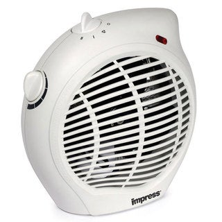 Impress IM-701 1500-watt 2-speed Fan Heater with Adjustable Thermostat (Refurbished)