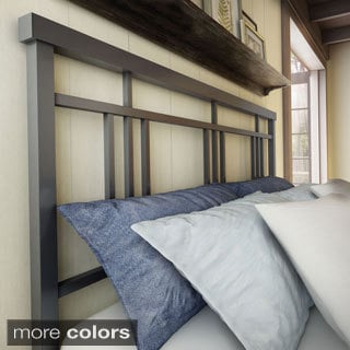 Amisco Cottage 60-inch Queen-size Metal Headboard