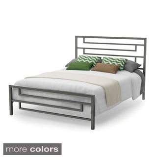 Amisco Temple 60-inch Queen-size Metal Bed